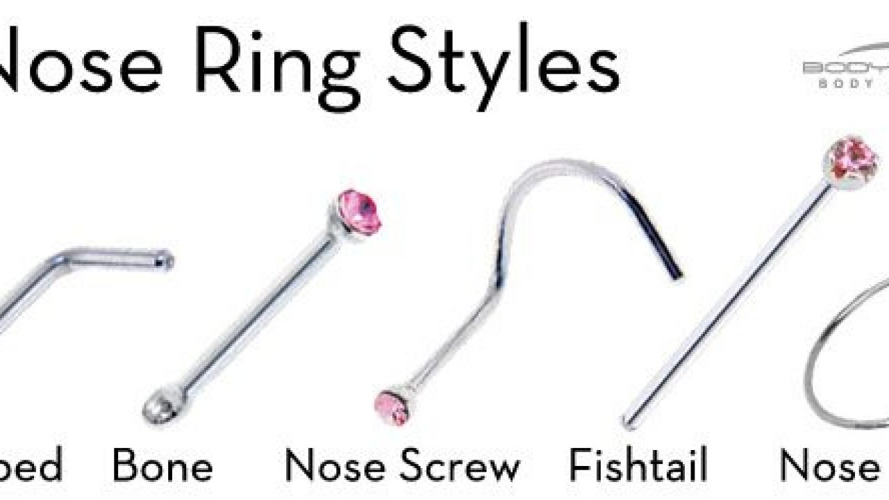 Types Of Nose Rings That Will Enhance Your Look Piercebody Com
