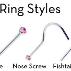 Types of Nose Rings that Suits Your Look