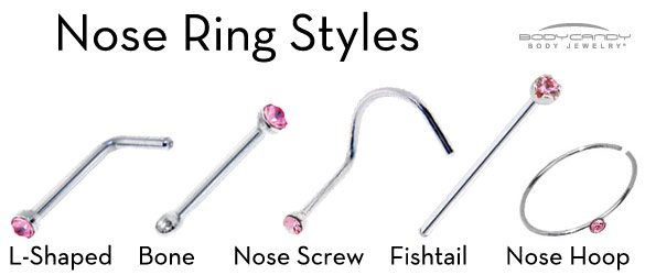 Types Of Nose Rings That Will Enhance Your Look Piercebodycom