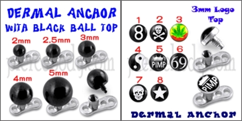 hip dermal anchor tops