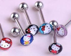 Where Can You Purchase Hello Kitty Cool Tongue Rings?