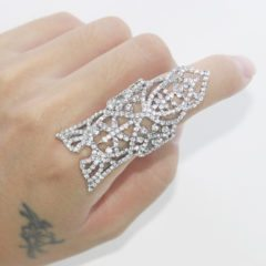 Crystal Finger Ring as the Most Magical Jewelry Item