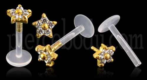 star type body jewelry
