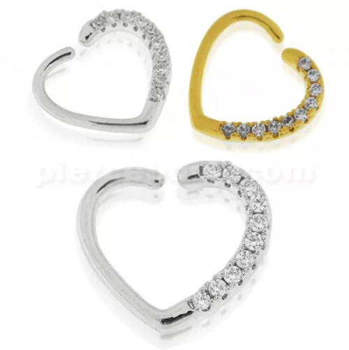 jeweled closure ring