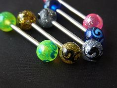 Hand painted UV balls in attractive designs