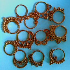 Look Royal with Inexpensive Brass Body Jewelry