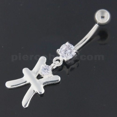 Flower - Dangling Belly Button Piercing