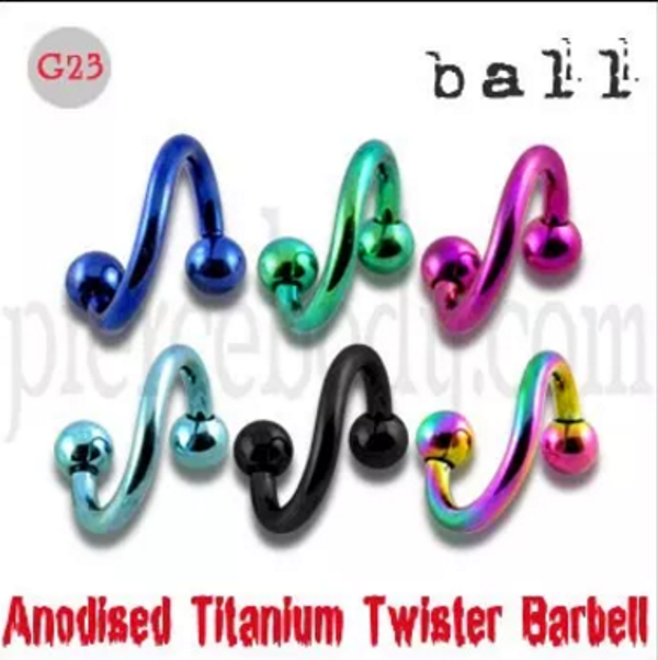 uv twisted barbell