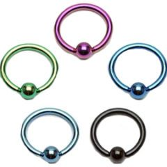 Easy To Wear Captive Bead Rings Body Jewelry