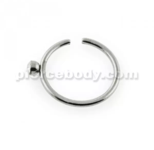 surgical steel nose piercing type