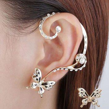 Show Elegance with Crystal Ear Piercing