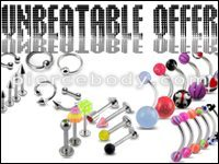 Great Deal and Unbeatable offers on Piercing Jewelry
