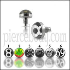 Logo Top Dermal Piercings