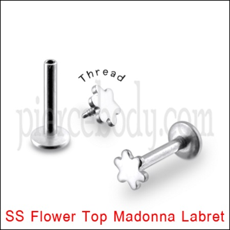 Flower Top Madonna Labret