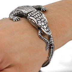 Casting Crocodile Bracelet