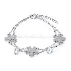 Stainless Steel Star Bracelet