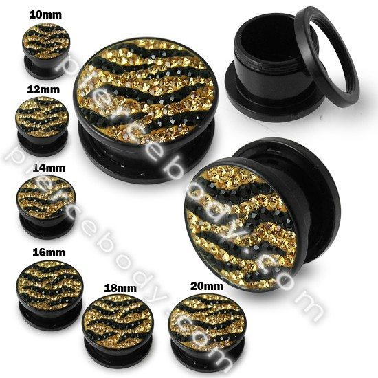 Zebra 10mm Gauges