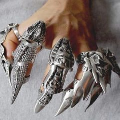 Finger Armor Rings: Changing the Trend