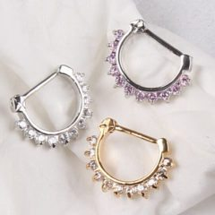 Think Stylish and Look Stylish with Septum Clickers & Septum Piercings