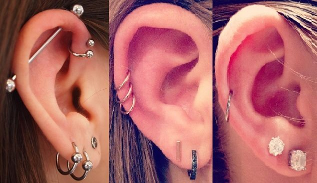 Auricle Piercings