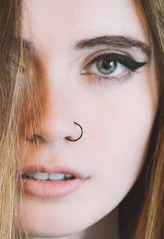 simple nose piercing jewelry