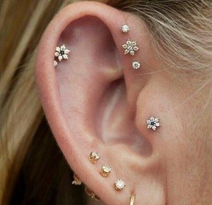 Forward Helix Earrings