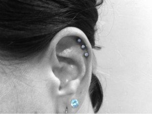 Triple Helix Piercing