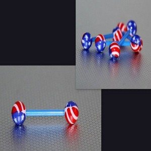 American Flag Barbell