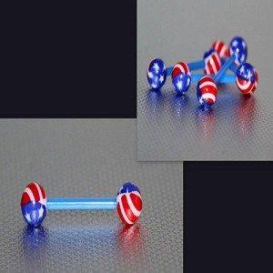 American Flag Barbell