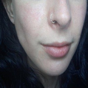 Twisted nose ring jewelry - nickel free silver tragus hoop, 20g nose ring, 18g nose hoop, 16g septum ring, 14g septum jewelry