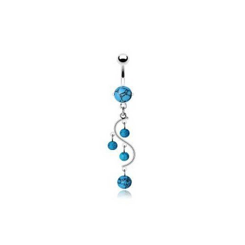 surgical-steel-turquoise-gemstone-vine-dangle-belly-button-ring