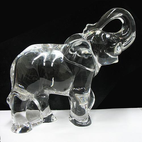 Crystal stones Elephant