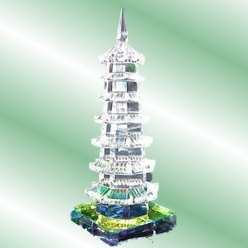 White Feng Shui Crystal Education Tower