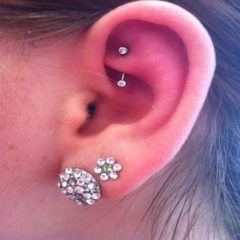 Choose a Captivating Rook Piercing Jewelry and Get a Stylish Look