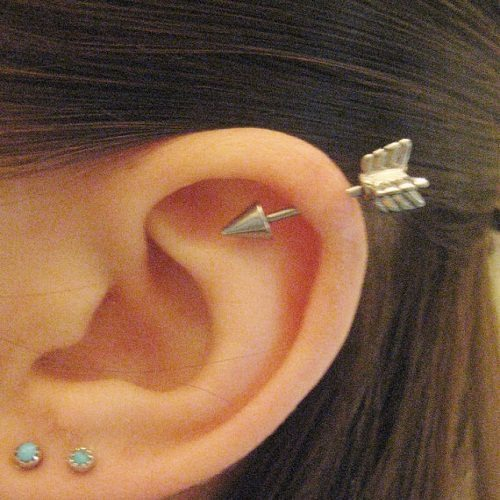 helix piercing jewelry designs