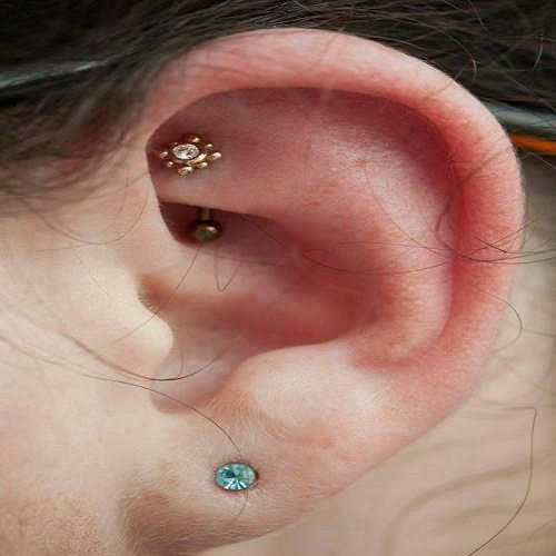 fake rook piercing jewelry