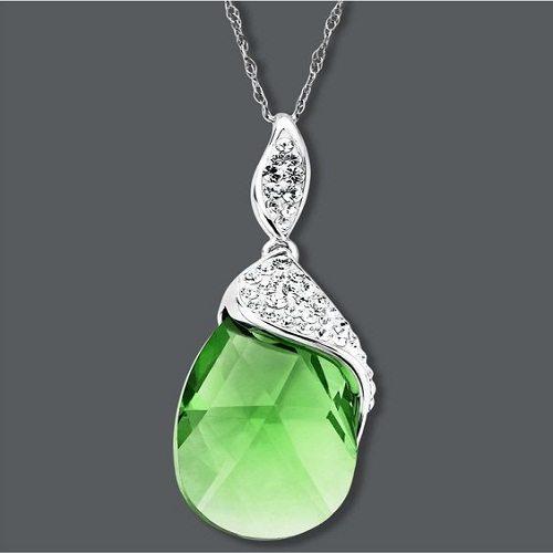 Emerald Crystal Pendant