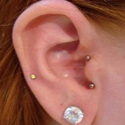 tragus piercing jewelry that will flaunt your beauty piercebody com