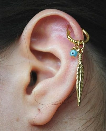 helix jewelry piercing