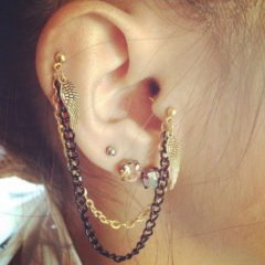 Flaunt Your Facial Beauty with Tragus Piercing Jewelry