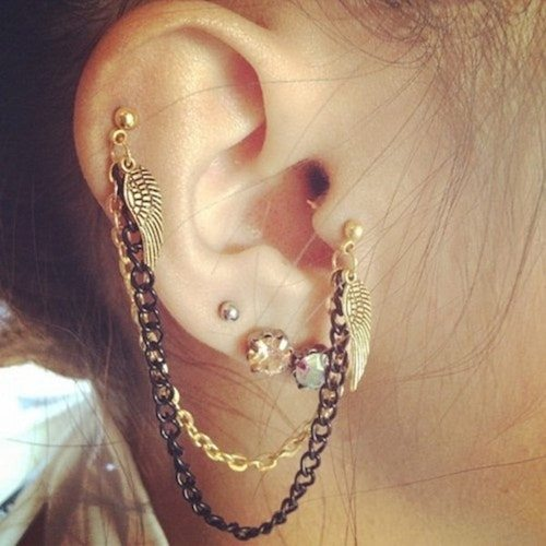 The Very Common Tragus Piercing Jewelry Include 6