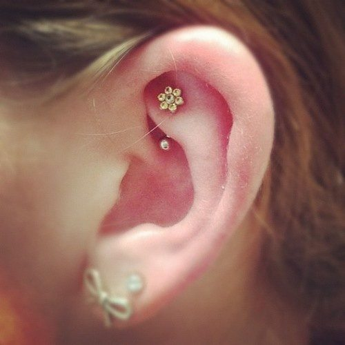 beautiful rook piercing jewelry