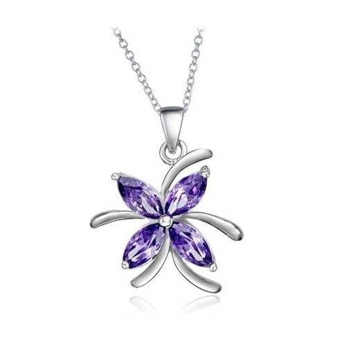 Flower Crystal Pendant