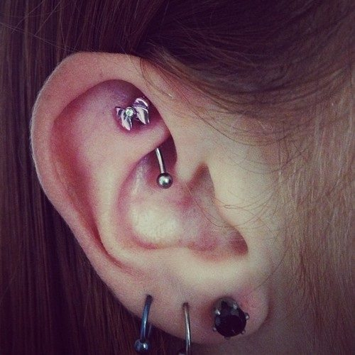 rook piercing jewelry pain
