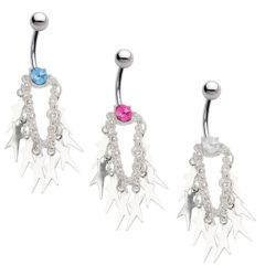 Wear Dangle Belly Button Ring to Adorn Your Bodily Appeal