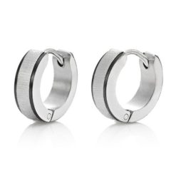 5 Different Style With Stunning Pair Of Stainless Steel Earring