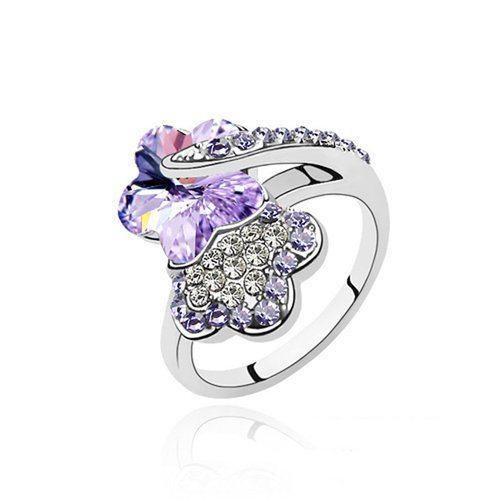 Crystal Finger Ring Designs