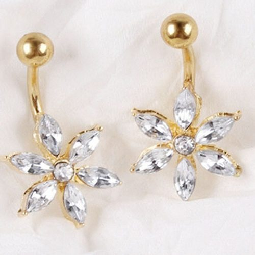 Gold Belly Button Ring Designs