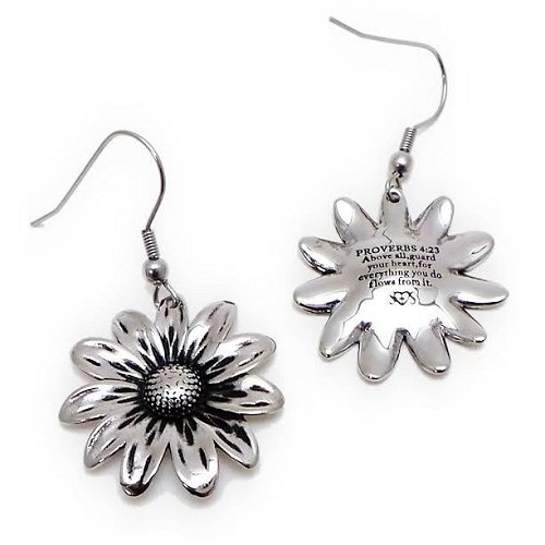Flower Style Stainless Steel Earring