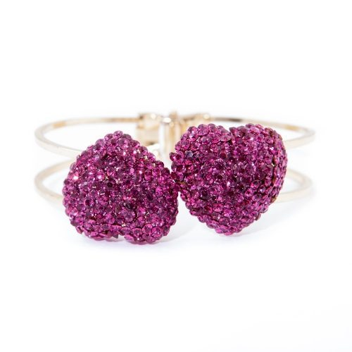 Heart Shaped Crystal Finger Ring